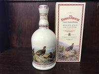 Lot 22-THE FAMOUS GROUSE HIGHLAND DECANTER