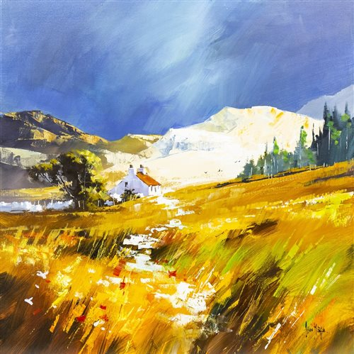 Lot 25-NEAR PERTHSHIRE, BY ALLAN MORGAN
