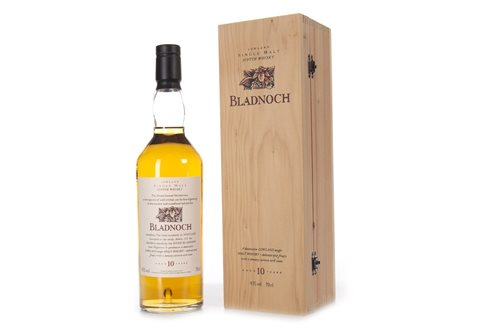 Lot 1018-BLADNOCH AGED 10 YEARS FLORA & FAUNA