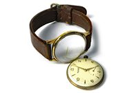Lot 765-A ROTARY GOLD WRIST WATCH