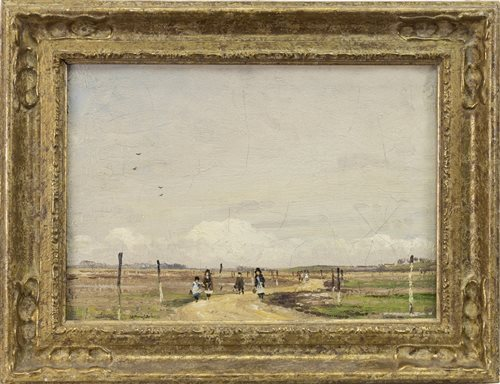 Lot 404 - A LANDSCAPE, BY WILLIAM PAGE ATKINSON WELLS