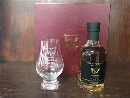 Lot 29-NORTH BRITISH 50TH ANNIVERSARY AGED 15 YEARS - 20CL
