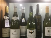 Lot 1-A SELECTION OF CHABLIS, PINOT GRIGIO AND OTHER WHITE WINE - TWELVE BOTTLES