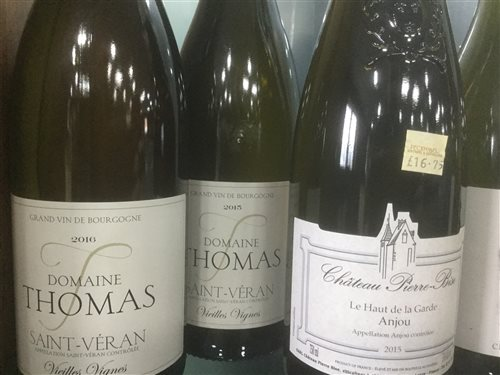 Lot 2-A SELECTION OF SAINT-VERAIN AND OTHER WHITE WINE - TWELVE BOTTLES
