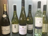 Lot 6-A SELECTION OF CROZES-HERMITAGE, CHARDONNAY AND OTHER WHITE WINE - TWELVE BOTTLES