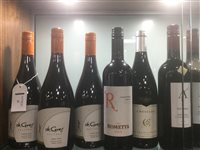 Lot 25-A SELECTION OF PINOT NOIR AND OTHER RED WINE - TWELVE BOTTLES