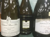 Lot 27-A SELECTION OF CHARDONNAY AND OTHER WHITE WINE - TWELVE BOTTLES