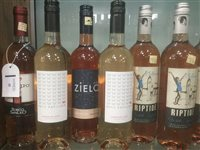 Lot 35-A SELECTION OF ROSE WINE AND SPARKLING ROSE - THIRTEEN BOTTLES