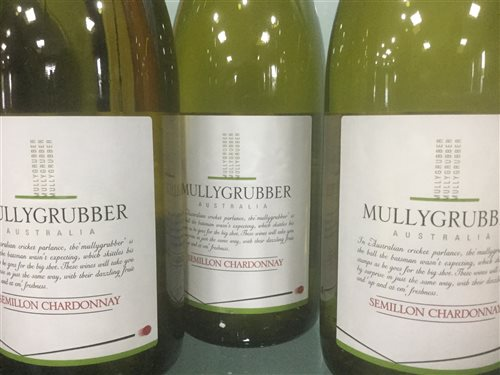 Lot 38-A LOT OF MULLYGRUBBER SEMILLON CHARDONNAY WHITE WINE - TWELVE BOTTLES