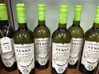 Lot 40-A SELECTION OF FIANO, CHARDONNAY AND OTHER WHITE WINE - TWELVE BOTTLES