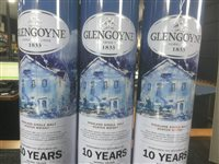 Lot 46-A LOT OF GLENGOYNE SCOTCH MALT WHISKY - THREE BOTTLES