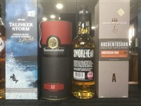 Lot 48-A SELECTION OF SCOTCH MALT WHISKY - SIX BOTTLES
