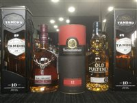 Lot 49-A SELECTION OF SCOTCH MALT WHISKY - FIVE BOTTLES