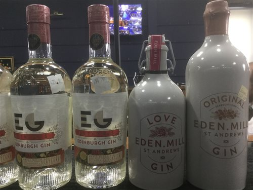 Lot 54-A SELECTION OF EDINBURGH AND OTHER GIN - SEVEN BOTTLES