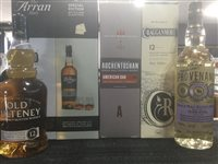 Lot 60-A SELECTION OF SCOTCH MALT WHISKY - FOUR BOTTLES