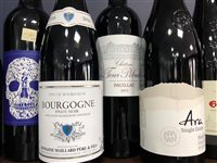 Lot 66-A SELECTION OF BEAUJOLAIS AND OTHER RED WINE - TEN BOTTLES