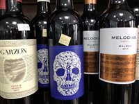 Lot 71-A SELECTION OF CHIANTI AND OTHER RED WINE - TWELVE BOTTLES