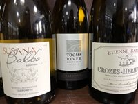 Lot 74-A SELECTION OF CHARDONNAY AND OTHER WHITE WINE - TWELVE BOTTLES
