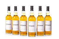 Lot 1005-SIX BOTTLES OF OCTOMORE 2004 FUTURES 'THE BEAST'