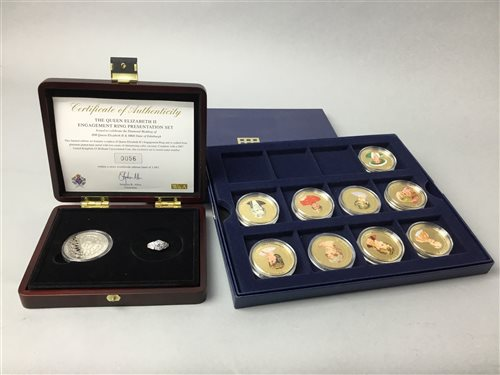 Lot 16-A COLLECTION OF COINS AND COIN SETS