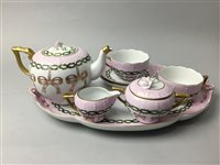 Lot 27-A FRENCH TEA FOR TWO SERVICE