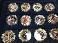 Lot 2-A SET OF COMMEMORATIVE COINS