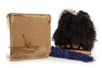 Lot 1657 - AN OSTRICH FEATHER BUSBY AND TWO DOUBLETS
