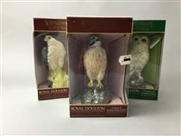 Lot 7-A COLLECTION OF DOULTON 'BIRD' DECANTERS