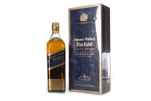 Lot 1014-JOHNNIE WALKER BLUE LABEL