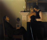Lot 30-BEAUTIFUL LOSERS II, A LIMITED EDITION SILKSCREEN PRINT BY JACK VETTRIANO
