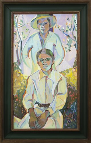 Lot 39-THE BROTHERS, BY CHRISTINA BROOKS