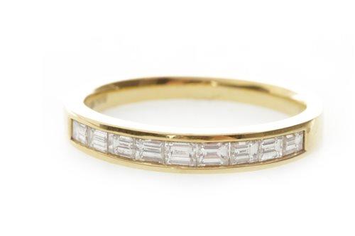 Lot 174-A DIAMOND SET BAND