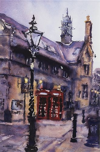 Lot 106 - RED PHONE BOXES, BY KAREN CAIRNS