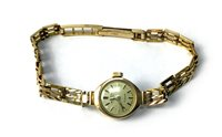 Lot 798-A LADY'S ROTARY NINE CARAT GOLD WRIST WATCH