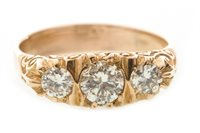 Lot 207-A VICTORIAN STYLE DIAMOND RING