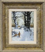 Lot 107-A PAIR OF WINTER SCENES, BY G WILLIAMS