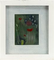 Lot 203-FLORAL STUDY, CONTEMPORARY SCHOOL