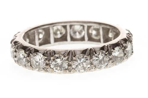 Lot 6-AN IMPRESSIVE DIAMOND ETERNITY RING