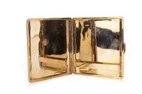 Lot 1732-A VICTORIAN GOLD CIGARETTE CASE