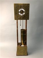Lot 54-A BRASS FACED WATER CLOCK