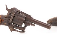 Lot 1673-A VICTORIAN POCKET PINFIRE REVOLVER