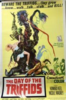 Lot 1738-A LARGE FILM POSTER FOR THE DAY OF THE TRIFFIDS