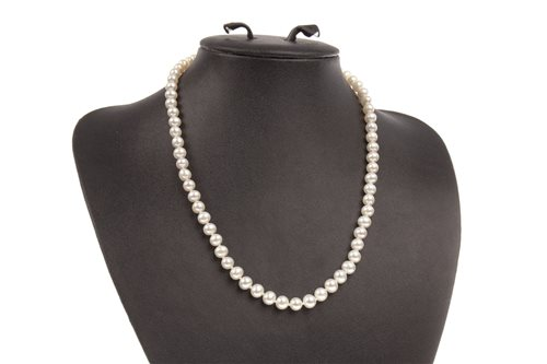 Lot 45-A PEARL NECKLACE
