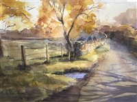Lot 37-A WATERCOLOUR BY SHEENA PHILLIPS