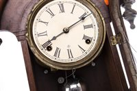 Lot 1422-A 19TH CENTURY AMERICAN MANTEL CLOCK BY WM. L. GILBERT