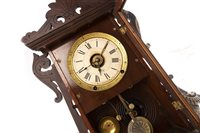 Lot 1425-A 19TH CENTURY AMERICAN MANTEL CLOCK