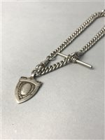 Lot 44-A SILVER ALBERT CHAIN