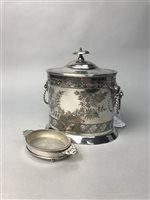Lot 49-A LOT OF SILVER AND SILVER PLATE