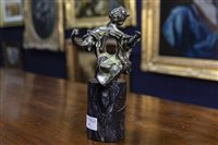 Lot 11-MADONNA OF PORT LLIGAT, A BRONZE SCULPTURE BY SALVADOR DALI