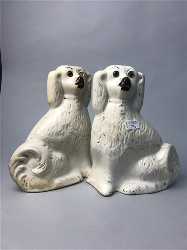 Lot 19-A PAIR OF WALLY DOGS